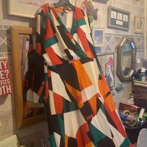 Plus maxi dress
